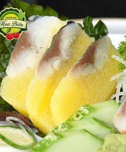 Fillet cá trích kết hợp cùng trứng cá chuồn